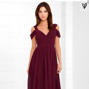 Lulu's NWT Make Me Move Bridesmaid Dress